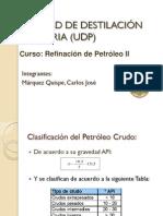 Destilación Primaria- UDP