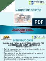 Jorge Landerer Determinacion de Costos