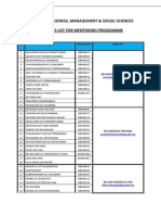 Students List for Mentoring Programme (Apr_may2014 Semester)