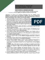 ISI AdmissionNotice2014 15