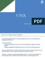 Unix Presentation