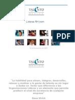 Presentación de Talento México para Líderes RH.com 18 Nov 09