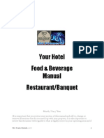FB Manual for Restaurant & Banquet