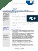 EDS Bill Brief