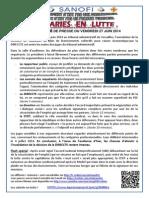 20140627 Communiqué de Presse