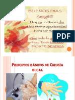 Principios Básicos de Cirugìa Bucal