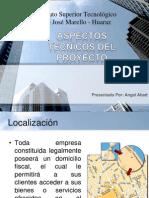 Diapositiva-Aspectos Tecnicos Del Proyecto-final
