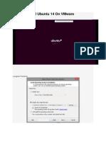 How to Install Ubuntu 14 on VMware Workstation