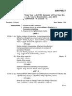 Contract Act QA - 2013-1