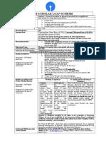 Checklist for Loan