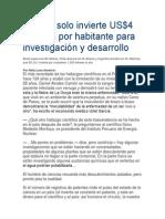 El Perú Solo Invierte US