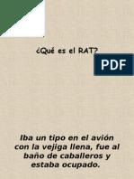 RAT en el avion