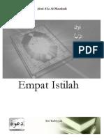 Al-Maududi - Empat Istilah