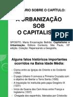 A Urbanização Sob o Capitalismo