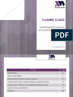 Claims Class Overview