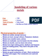 METALS AND handelling of various metals.pptx