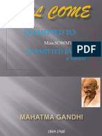 Mahatma Gandhi Power Point