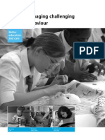 Ofsted Managing Challenging Behaviour