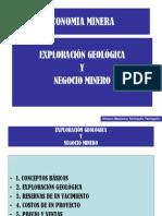 Explor-Geolog y Negocio Minero