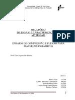 Caracterizaçao de Materiais Ceramicos