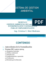 Modulo i Sistema de Gestion Ambiental Iso 14001-2004-Mayo 2014 (1)