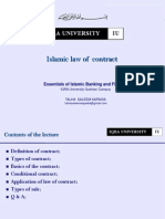 5. Islamic Law of Contract