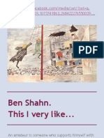 Ben Shahn. This I very like...
