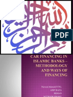 Car Financing in Islamic Banks – Methodology And