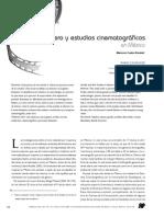Cine y Estudios de Genero en Mexico