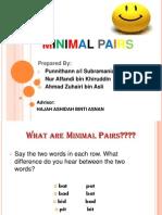 Minimal Pairs Presentations