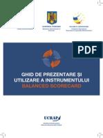 Ghid de Prezentare Si Utilizare a Instrumentului Balanced Scorecard