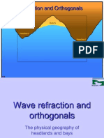 Wave Refraction and Orthogonals