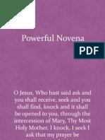 Powerful Novena