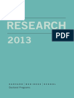 Doctoral Research 2012-2013