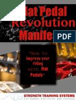 Flat Pedal Revolution  Manifesto