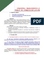 Conceptul Problematica Si Tipurile Curriculum-ului Prezentare