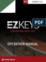 EZkeys Operation Manual