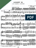 1º WEber- Piano