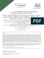 Solar Energy Volume 85 issue 4 2011 [doi 10.1016%2Fj.solener.2010.04.014] M. Roeb; J.-P. Säck; P. Rietbrock; C. Prahl; H. Schreiber; M. N -- Test operation of a 100kW pilot plant for solar hydrogen production from water on.pdf
