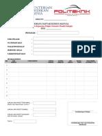 Borang Daftar Manual Sem Pendek