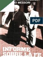 Informe Sobre La Fe - Card. Joseph Ratzinger
