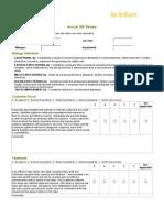 360 Peer Evaluation Form