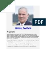 Dennis Beetham - DennisBeetham