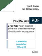 2- Fluid Statics