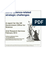 Some Science-related Strategic Challenges - Recovering From Disasters