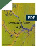 Sensoriamento Remoto RADAR