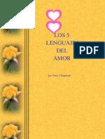 Los 5 Lenguajes Del Amor Los Niños
