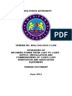 Standard Tender Document