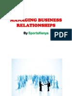 Managing Business Relationships - SK