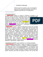 Curente Literare_trasaturi, Introducere (1)